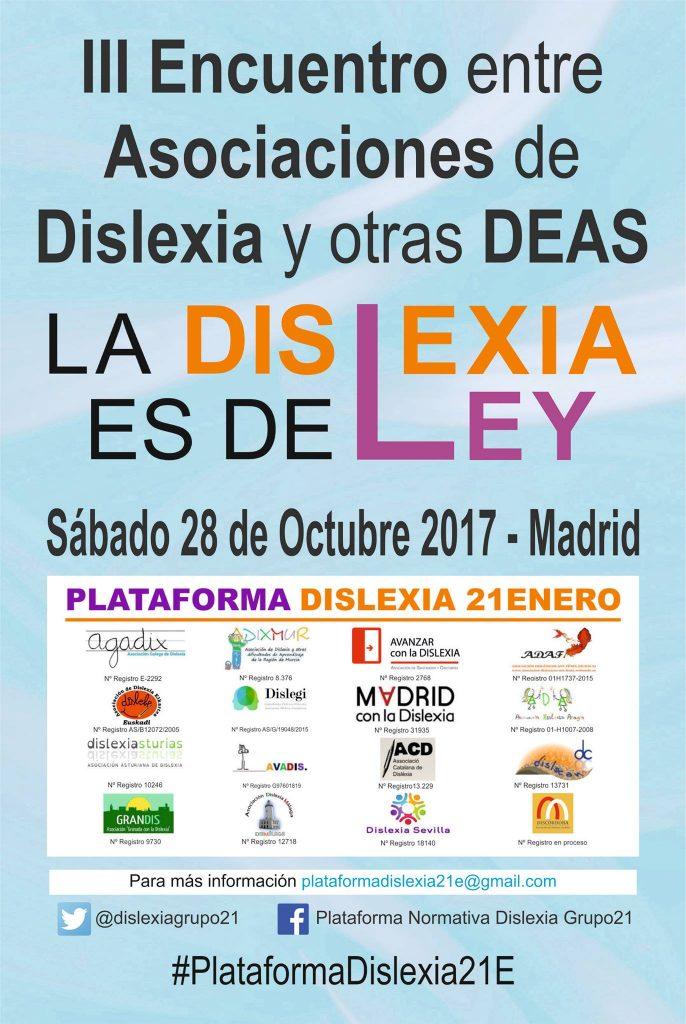 III ENCUENTRO ASOCIACIONES DISLEXIA ESPAÑA